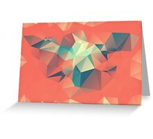 Autumn Polygon Greeting Card