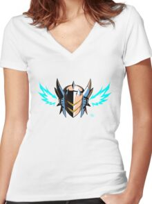 GG! Classic Orion (Community Colors) Women's Fitted V-Neck T-Shirt