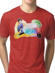 Victuuri - Yuri on Ice (watercolor) Tri-blend T-Shirt