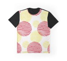 Waves in circles Graphic T-Shirt