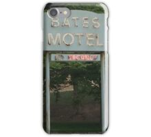 Bates Motel Sign iPhone Case/Skin