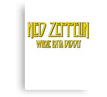 Ned Zeppelin - Whole Lotta Diddly (Simpsons) Canvas Print