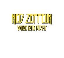 Ned Zeppelin - Whole Lotta Diddly (Simpsons) Photographic Print