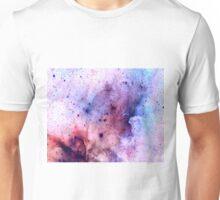 Purple Negative Galaxy  Unisex T-Shirt
