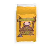 Vlad's Candy Stand Duvet Cover