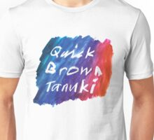 Quick Brown Tanuki Unisex T-Shirt