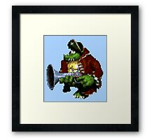 Captain K. Rool Framed Print