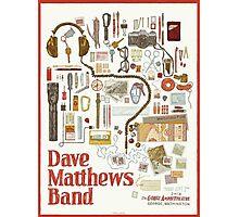 Dave Matthews Band, Tour 2016, The Gorge Amphitheatre George WA Photographic Print