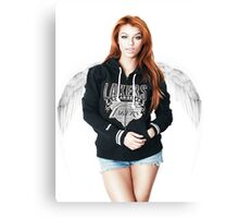 Random Model with Wings Canvas Print