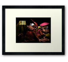 This is like prison! Framed Print