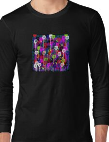 Bright Dripping Long Sleeve T-Shirt