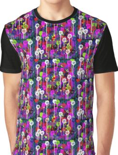 Bright Dripping Graphic T-Shirt