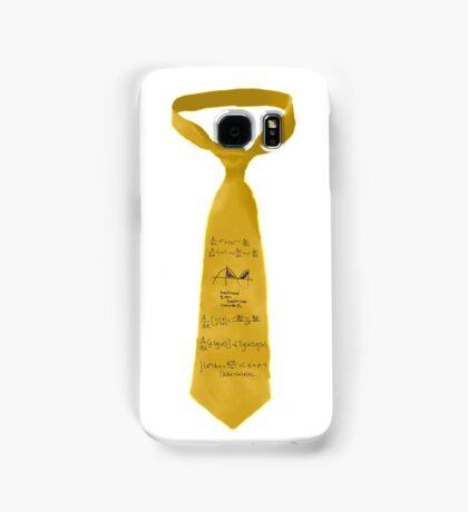 Yellow Calculus Tie Samsung Galaxy Case/Skin