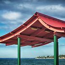 Red Roof Shelter at RedCliffe by Clare Colins