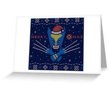 Santa Claws Greeting Card