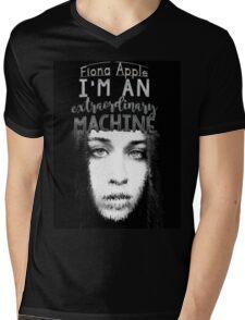 """""""I'm an extraordinary machine."""" -Fiona Apple Mens V-Neck T-Shirt"""
