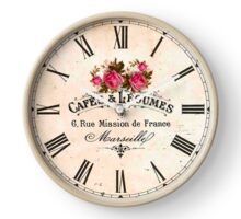 026 Wall Clock Coffee and Vegetables Clock