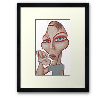 Smoking it Framed Print