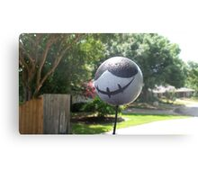 PermaDeathy car topper Amazingness! Canvas Print