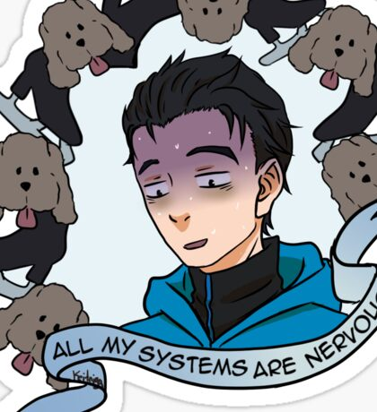 All My Systems are Nervous Sticker