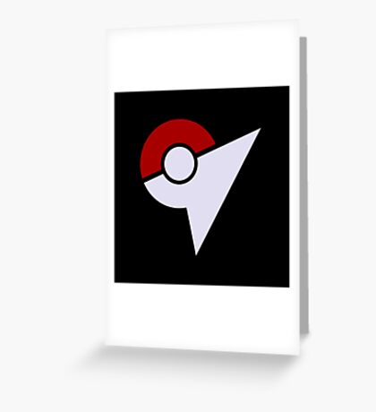 Pokemon Gym Greeting Card