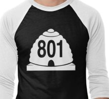 801 local zonly Men's Baseball ¾ T-Shirt