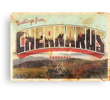 Greetings from Chernarus - INFECTED Canvas Print