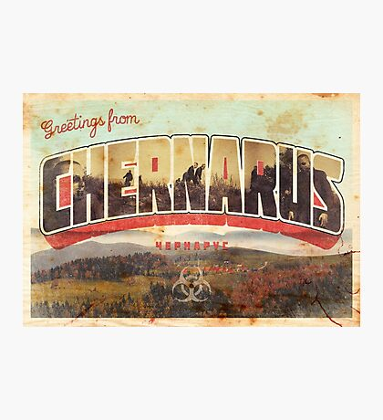 Greetings from Chernarus - INFECTED Photographic Print
