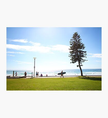 Manly Beach Life Photographic Print