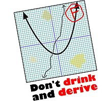 Don't drink and derive Photographic Print