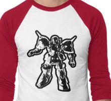 The Impossibles Self Titled Robot B&W Men's Baseball ¾ T-Shirt