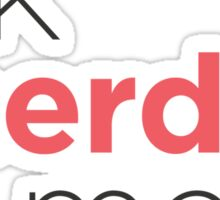 Talk Nerdy To Me - Markup style Sticker