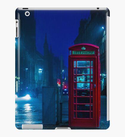 Telephone Cabin, Edinburgh iPad Case/Skin