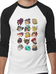 Brawlhalla Legends Set 1 of 2 Men's Baseball ¾ T-Shirt