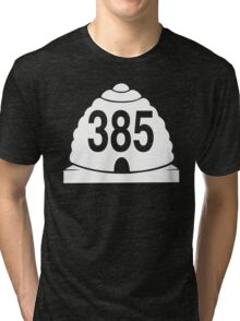 385 local zonly Tri-blend T-Shirt