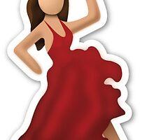 Salsa Emoji by chelsealandau