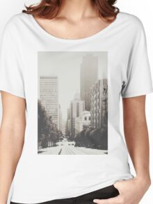 San Francisco I T-shirt femme coupe relax
