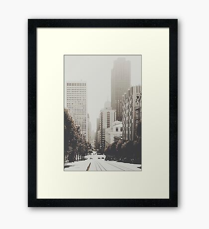 San Francisco I Framed Print