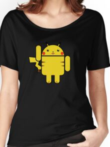 Electro Droid Women's Relaxed Fit T-Shirt