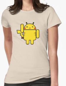 Electro Droid Womens Fitted T-Shirt