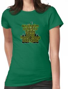 Diz Dere Womens Fitted T-Shirt