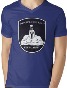 Les Disciples de Zeus - Segpa Army Mens V-Neck T-Shirt