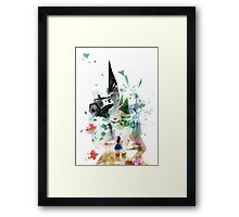 Not in Kansas Anymore v2 Framed Print