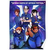 Space cops on space patrol Poster