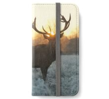 Christmas  Stag 4 iPhone Wallet/Case/Skin