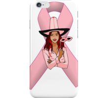 Breast Cancer Pink Ribbon Awareness iPhone Case/Skin