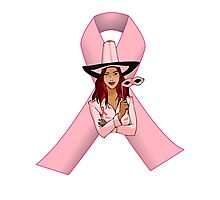 Breast Cancer Pink Ribbon Awareness Photographic Print