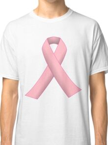 Breast Cancer Pink Ribbon Awareness Classic T-Shirt