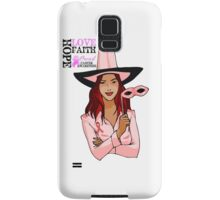 Breast Cancer Pink Ribbon Awareness Samsung Galaxy Case/Skin