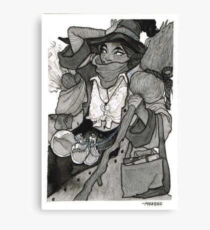 Vagabond Witch Canvas Print
